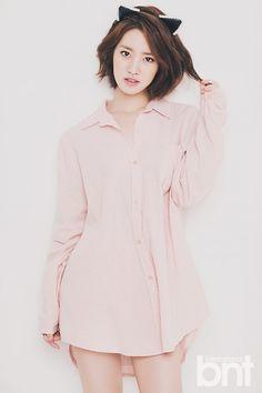 Jin Se Yeon - bnt International August 2014