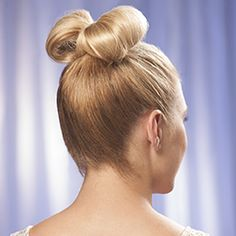 Learn how to make a bow in your hair with our easy steps. This sweet look can be dressed up with sparkled pins or simply accessorize your cutest outfit. http://www.hairperfecter.com/how-to-make-a-bow-in-your-hair/
