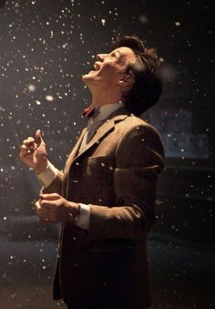 And this picture right here sums up why the choice of my favorite doctor is constantly changing.