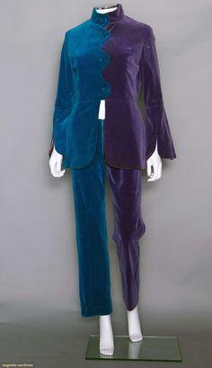 WANT.!!    Apple Boutique Velvet Pantsuit, London, 1968, Augusta Auctions, November 12, 2014