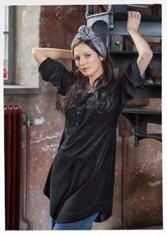 Velor tunic of organic cotton / polyester 67401-99.jpg sizes S-XXL