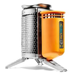 The BioLite CampStove on http://wanderlustandlipstick.com--- Are you ready for this:)