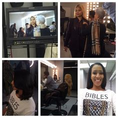 #TashiTalentRocks: Model BJ Gianni and Hairstylist Evie Johnson Work On A BET Commercial (Behind The Scenes)  Model: @bjgianni  Model: @planetlanea Hair Stylist: @contactevie Makeup: @niksamara Styled By: @misahylton