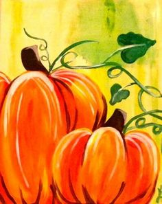 Wine and Canvas Fall Canvas Painting, Wine Painting, Autumn Painting, Autumn Art, Painting & Drawing, Canvas Art, Canvas Ideas, Fall Paintings, Acrylic Paintings