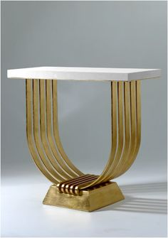 /// Console table from Adam Williams