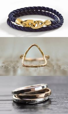 Sailormade Jewelry - Bracelets ad Rings