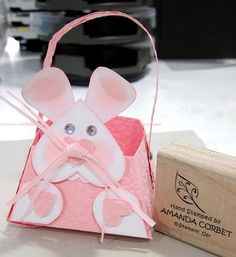 Bunny Basket by zainy3018 - Cards and Paper Crafts at Splitcoaststampers