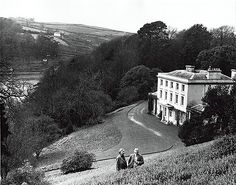 Christie and her husband archaeologist Sir Max Mallowan at Greenway in Devon.