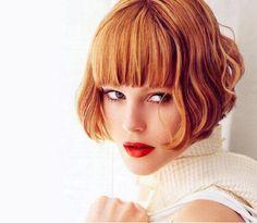 coiffure rousse court - Recherche Google