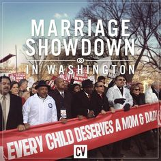 The March for Marriage in D.C. today... Keep this in your prayers!