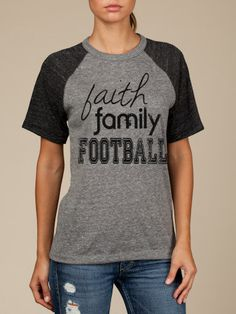 faith family football by iammermaid on Etsy, $30.00