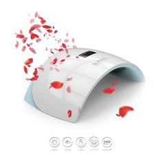 2016 24w uv led nail lamp dryer for artificial nails SK-LED9S
