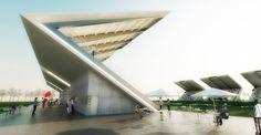 Football Stadium / DATA Architects