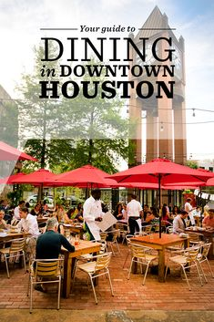 Check out our guide to the top restaurants in Downtown Houston.