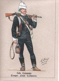 British; Natal Carabiners, Trooper, 1879