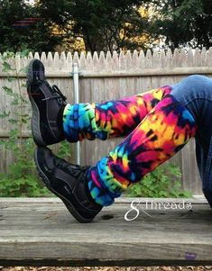 Fleece Legwarmers - Colorful Tye Dye Leg Warmers for Women or Men - Rainbow Stretchy Adult Legwarmers - Vêtements de yoga - Mode d'entraînement, Genel Yoga Fitness, Leg Warmers For Women, Tye Dye, Workout, Fitness Fashion, Harem Pants, Rainbow, Legs, Colorful