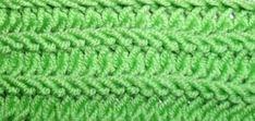 Double Garter - Knittingfool Stitch Detail