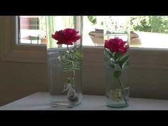 Fleurs artificielles : composition avec arums - YouTube