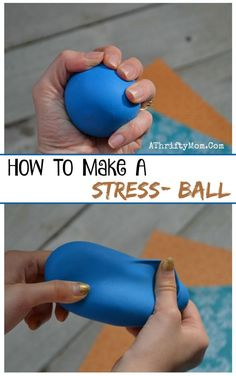 Kids crafts, How to make a stress ball, perfect for tweens or teens summer camp arts and crafts ideas, boy or girl scout craft ideas, low cost craft projects for a family reunion