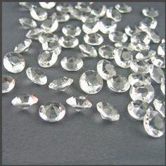 800 diamond table confetti wedding bridal shower party decorations 4 carat10mm wedding supplies unique