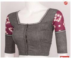 Cotton Saree Blouse Designs, Kurti Neck Designs, Fancy Blouse Designs, Silk Cotton Sarees, Blouse Patterns, Blouse Designs Catalogue, Stylish Blouse Design, Blouse Neck, Indian