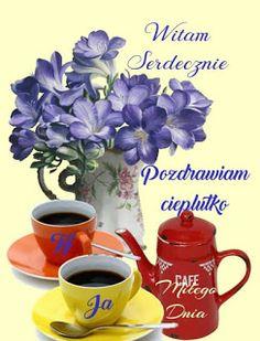 Dla każdego: POZDRAWIAM Rose Flower Arrangements, Indoor Plants, House Plants, Good Morning, Tableware, Album, Blog, Good Morning Friends, Flowers