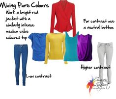How to Mix and Match Colours