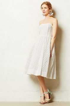 #Kaja #Dress #Anthropologie I don't know if I could pull this off but it's so sweet and delicate :)