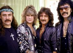 Black Sabbath with Ozzy Osborne.