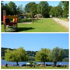 Camping, Golf Courses, Campsite, Campers, Rv Camping