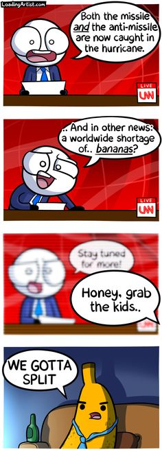A comic about BREAKING NEWS! Tap to view the full thing!