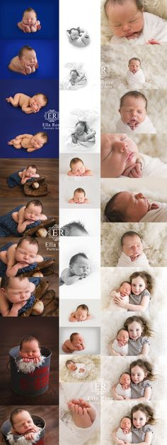 Newborn Flow posing for beginners to advance newborn photographers.