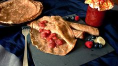 Leicht süßliche, superleckere Kastanien-Pfannkuchen… #paleo #einfach #schnell