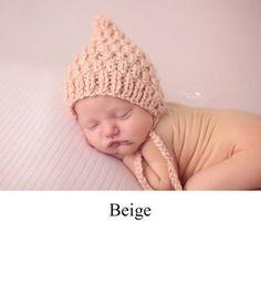 Baby Boy Hat Baby Girl Hat Knit Baby Bonnet by TwoLittleAngels1