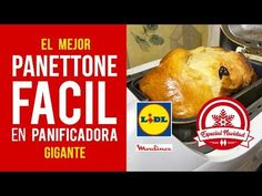 Panettone de Navidad Fácil en Panificadora Moulinex Lidl [RECETA AUTÉNTICA] - YouTube Youtube, Food, Chocolate Delight, How To Make Candy, Bread Machine Bread, Stuffed Avocado, Cinnamon Rolls, Homemade Recipe, Cookies
