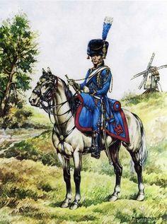 Artillerie à Cheval Garde Impériale-Pierre Conrad