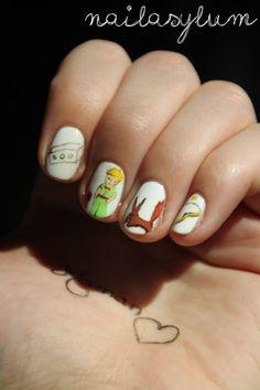 Le Petit Prince manicure