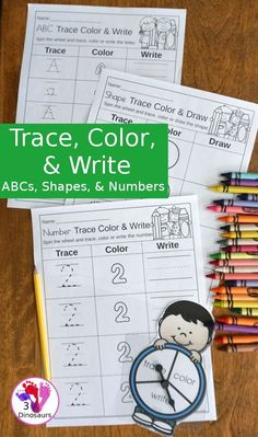 Trace, Color, & Writ
