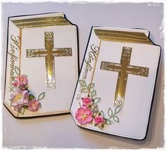 Chanettes kreative blog: Konfirmation invitation til pige Mini Albums, Projects To Try, Decorative Boxes, Blog, Creative, Mini Scrapbooks, Decorative Storage Boxes