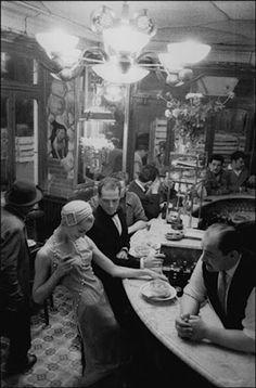 Frank Horvat. Les Halles 1957.