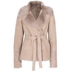 Michalsky Shearling Belt Sand Lamb fur jacket with belt and other apparel, accessories and trends. Browse and shop 2 related looks.