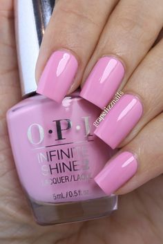 I have the twelve new polishes that make up the Infinite Shine Summer Collection 2015 from OPI to share wi. Fancy Nails, Cute Nails, Pretty Nails, Opi Nails, Manicure And Pedicure, Pedicures, Stiletto Nails, Colorful Nail Designs, Nail Art Designs