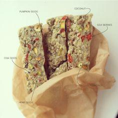 PROTEIN BARS. #vegan #glutenfree #protein delicious!