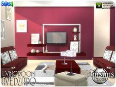 jomsims' Avedzado living room