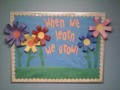 Spring bulletin board :)