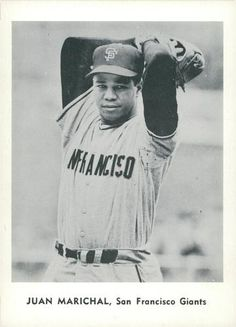 1961 Jay Publishing San Francisco Giants #NNO Juan Marichal Front
