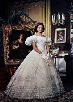 Claudia Cardinale dans Le Guépard de Luchino Visconti delon