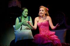 Christine Dwyer and Jeanna de Waal  perform in Wicked