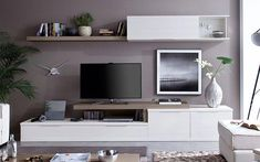 Home theaters minimalista Ambientes - hometheaters Nordic Living Room, Home Living Room, Living Room Designs, Living Room Decor, Tv Unit Furniture, Home Furniture, Tv Storage Unit, Tv Unit Interior Design, Karton Design