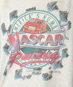Nascar Racing, Vintage Tees